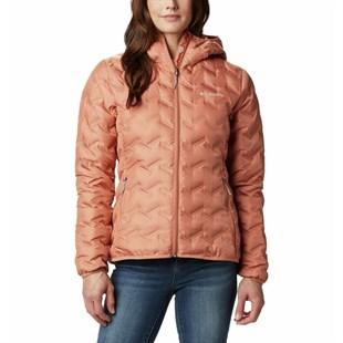 Columbia WK0260-604 Delta Ridge Down Hooded Jacket Kadın Mont