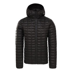 The North Face Thermoball Eco Hoodie Erkek Mont Siyah